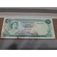Багамские острова 1 доллар 1974