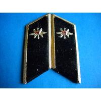 Петлицы войск связи СССР металлические