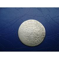 6 грошей (шостак) 1662 (1)         (2821)