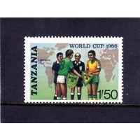 Танзания.Кубок Мира по футболу. Мексика.1986