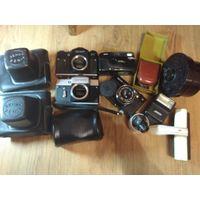 Фотоаппараты Зенит, Орион, Kodak + разное