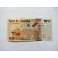 Уганда, 1000 шиллингов, 2010 г.