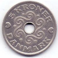 Дания, 5 крон 1997 года.