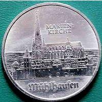 5 марок 500 лет со дня рождения Томаса Мюнцера, Церковь Св. Марии в Мюльхаузен