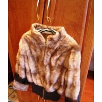 Куртка из меха норки для автоледи шикарная р.С