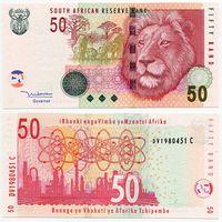 Южная Африка. 50 рэнд (образца 2005 года, P130a, UNC)