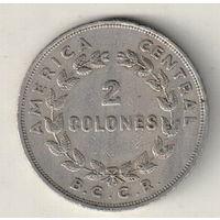 Коста-Рика 2 колон 1968