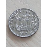 Эквадор 1 сукре 1975г.