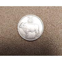 Ботсвана 25 тхебе 1977