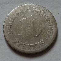 10 пфеннигов, Германия 1874 г.