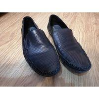Туфли мужские черные натуральная кожа