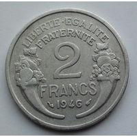 Франция 2 франка. 1946