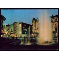Пловдив Ночной город