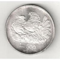 Сан-Марино 500 лира 1974