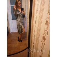 Шикарное бархатное платье