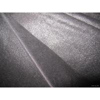 Очень красивая ткань с блестящим напылением (цвет черный)