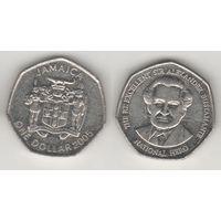 Ямайка km164 1 доллар 2005 год (al)(f14)*