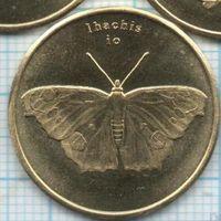 Сулавеси (Индонезия) 5 рупий 2019, тропические бабочки