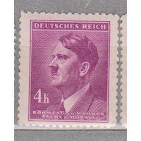 Германия рейх  Богемия и Моравия Адольф Гитлер известные люди 1942 г лот 5