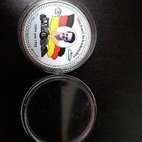 KM#56 Uganda 1000 shillings 1997 Michael Schumacher proof