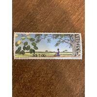 Намибия 2000. Деревья. Sclerocarya birrea. Марка из серии