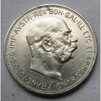 Австрия, 2 короны, 1912, серебро