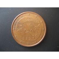 5 евроцентов Эстония 2011