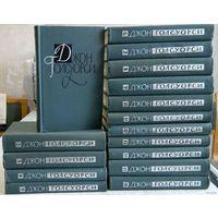 Джон Голсуорси. Собрание сочинений в 16 томах (комплект из 16 книг). Антикварное издание, 1962г. указана стоимсоть 1 тома.