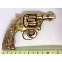 Пряжка для ремня Пистолет Металл