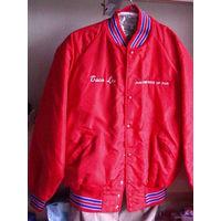 Куртка спортивная, красная. распродажа