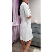 Медицинское платье-халат