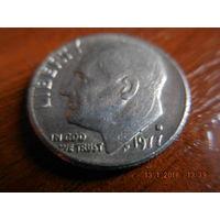 10 центов, США, 1977 г. Р