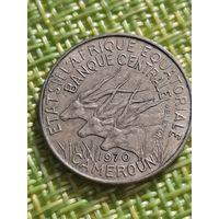 Камерун 5 франков (Французская Экваториальная Африка) 1970 год
