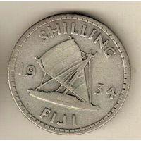 Фиджи 1 шиллинг 1934