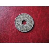 25 сантимов 1923 год Франция