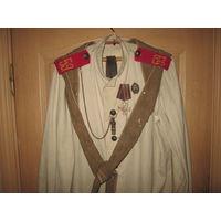 С 1 рубля!Рубашка РИА  с башлыком рядовой состав.59 полк