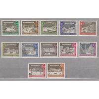 Германия Старый Берлин 1962 -1963 г лот 3 ПОЛНАЯ СЕРИЯ из 12 марок