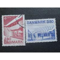 Дания 1987 Европа полная серия