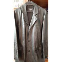 Плащ-пальто мужской 2XL. Кожа натуральная.