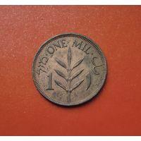 Палестина 1 мил 1927 (первый год чеканки монет подобного типа)