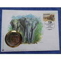 Уганда, 30 Лет WWF, Aфриканский слон
