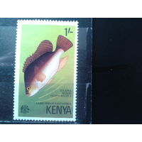 Кения 1977 Теляпия**