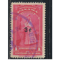 Панама 1954 Крестьянка Надп Стандарт #438