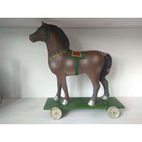 Конь. Лошадь. Пресс-опилки. 1950-е. СССР