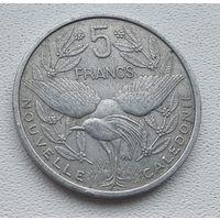Новая Каледония 5 франков, 1952 8-4-12