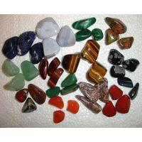 Камни натуральные Минералы Голубой агат (цена за один,наличие в описании) из личной коллекции