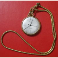 Часы Mauthe, позолоченные. Редкость