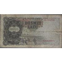 Латвия 10 латов 1938