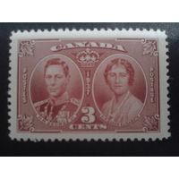 Канада 1937 король Георг 6 и королева Елизавета полная серия
