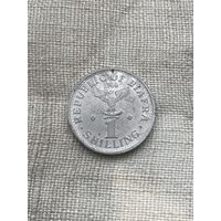 Биафра 1 шиллинг 1969 г., алюминий, редкость